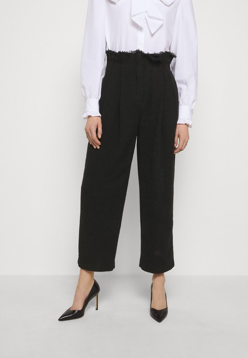 Alberta Ferretti - TROUSERS - Trousers - black