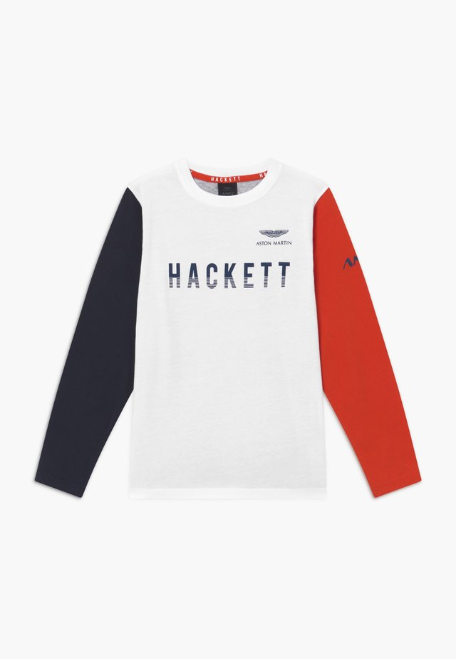 T-shirt à manches longues - white/multicolor