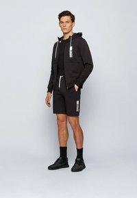 BOSS - SAGGY - Zip-up hoodie - black - 1