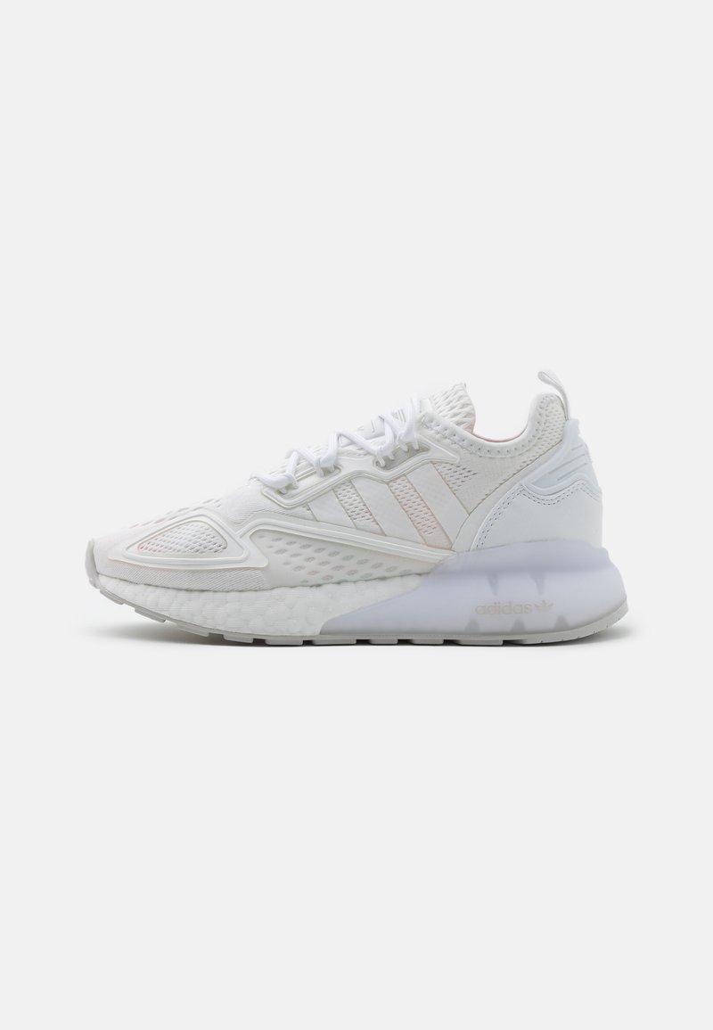 adidas Originals - ZX 2K BOOST UNISEX - Trainers - footwear white/grey one