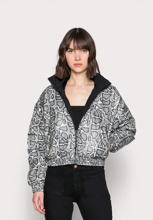 REVERSIBLE PADDED JACKET - Winter jacket - black
