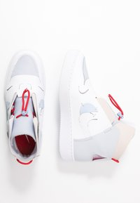 Nike Sportswear - VANDAL - Sneaker high - sky grey/hydrogen blue/white/university red - 3