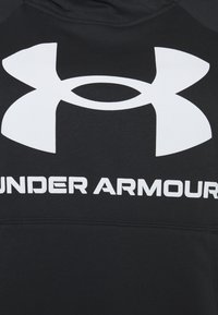 Under Armour - RIVAL LOGO HOODIE - Felpa con cappuccio - black - 2