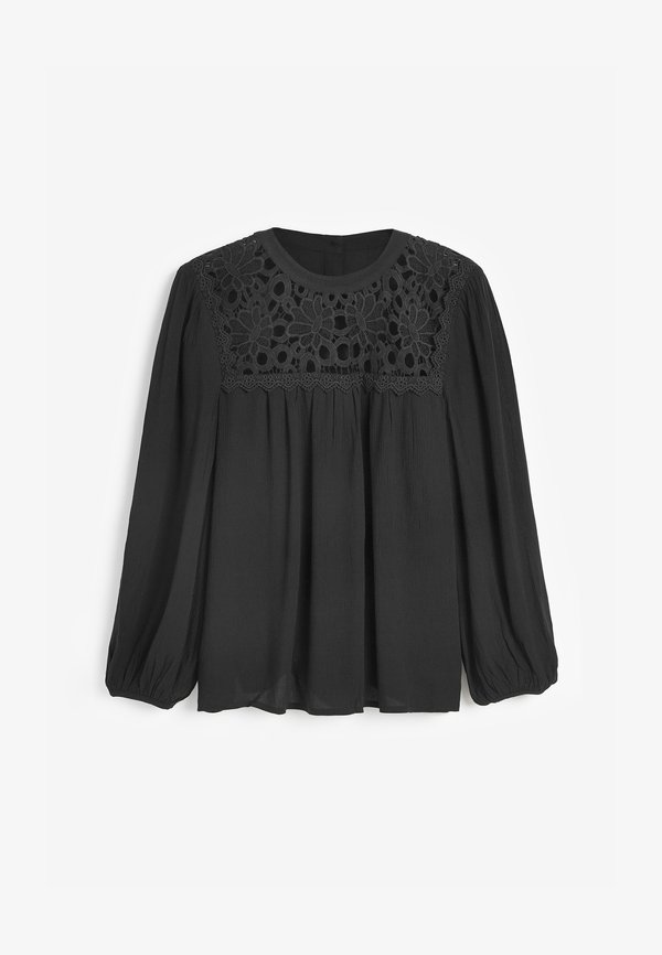 Next Bluzka - black/czarny VYQP