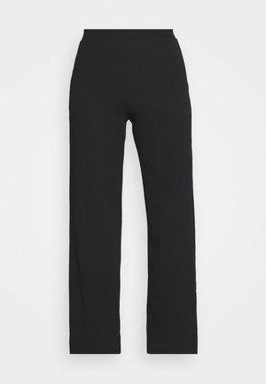 ELLIOT FLARE TROUSERS - Kalhoty - black