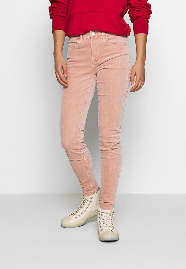 Pantalon classique - dusty pink