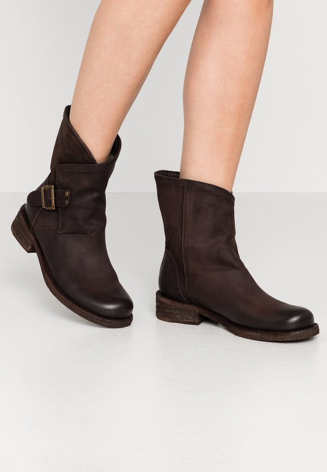 VERDY - Cowboy/biker ankle boot - chocolate