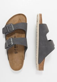 Birkenstock - ARIZONA - Slippers - steer soft gray - 1
