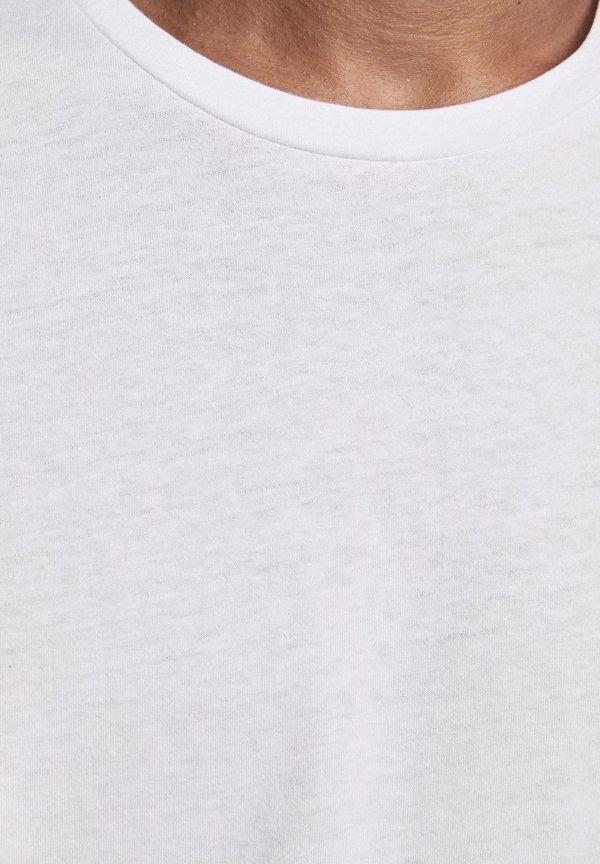 Jack & Jones 5 PACK - T-shirt basic - white/biały Odzież Męska PNQS