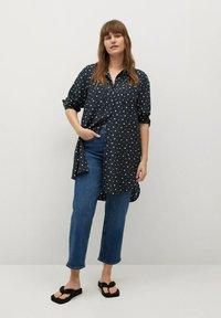 Violeta by Mango - Button-down blouse - marineblau - 1