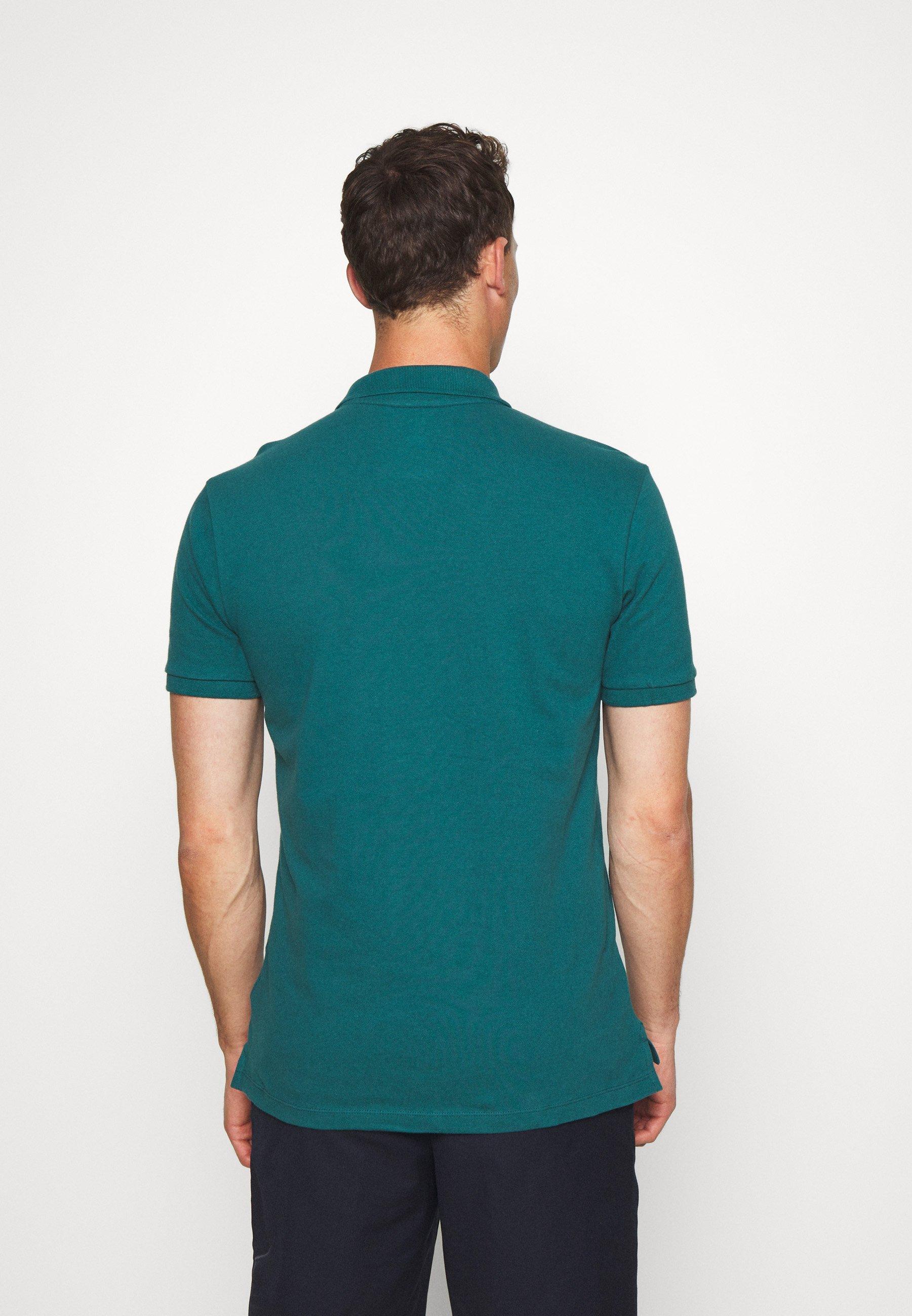 GAP SOLID - Polo shirt - velvet teal jV6Zu