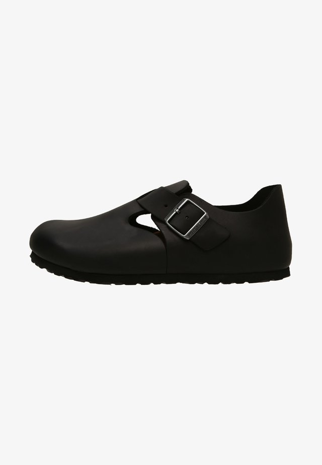 LONDON NARROW - Mocasines - black