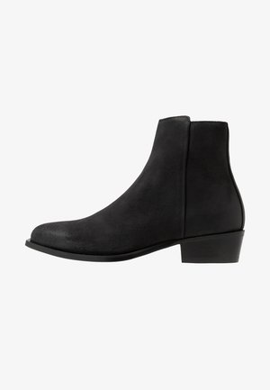 PRESTIGE - Kovbojské/motorkářské boty - black