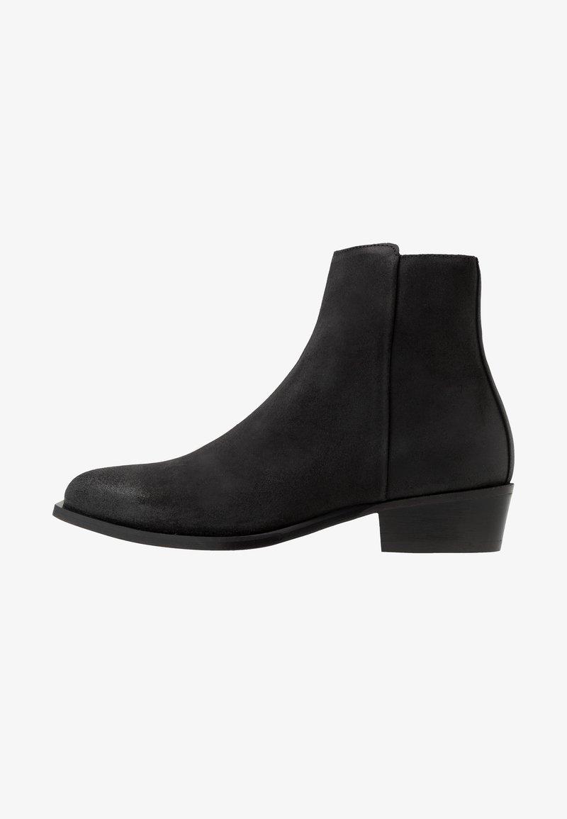 HUGO - PRESTIGE - Cowboy/biker ankle boot - black