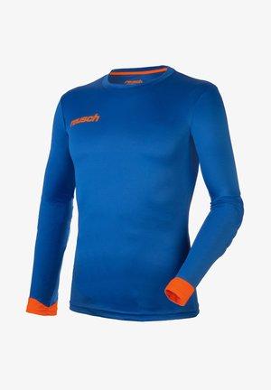 Long sleeved top - electric blu/shock. orang