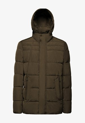 Winter jacket - dark tarmac green