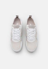 Gabor Comfort - Sneakers laag - platinum/weiß/light grey - 5