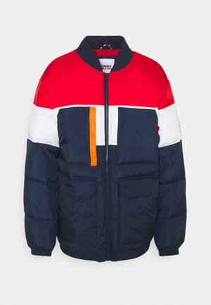 MULTI POCKET BOMBER - Winter jacket - twilight navy/multi