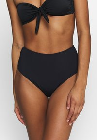 ONLY - ONLNITAN BIKINI BRIEF 2 PACK - Bikiniunderdel - black/bright white - 1