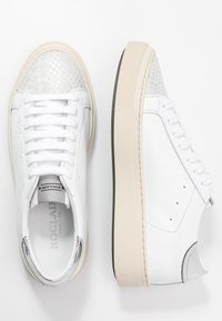 Noclaim - ANDREA  - Sneakers basse - bianco/argento - 3