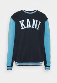 Karl Kani - COLLEGE BLOCK CREW - Sweatshirt - navy - 4