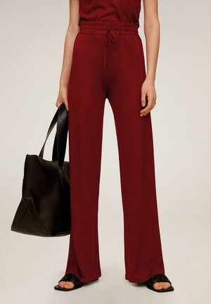LINEN - Trousers - rot