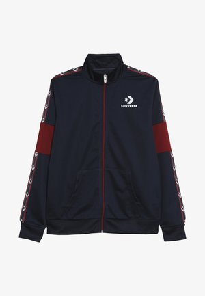 STAR CHEVRON COLORBLOCK TRACK JACKET - Training jacket - obsidian