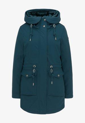 Winterjas - smaragd