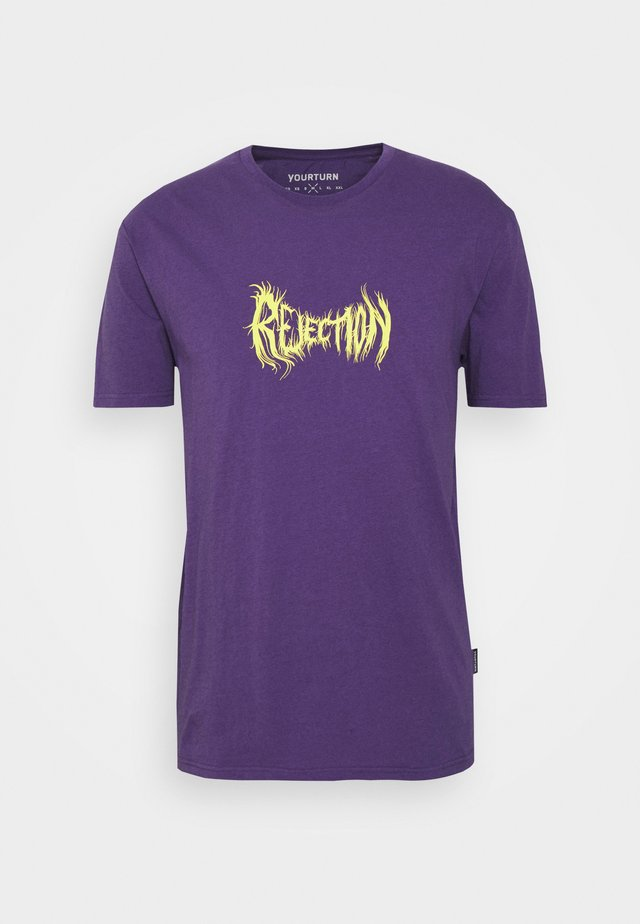 UNISEX - T-shirt con stampa - lilac