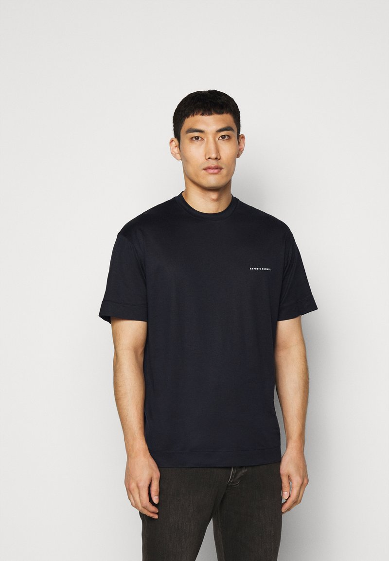 Emporio Armani - Basic T-shirt - dark blue