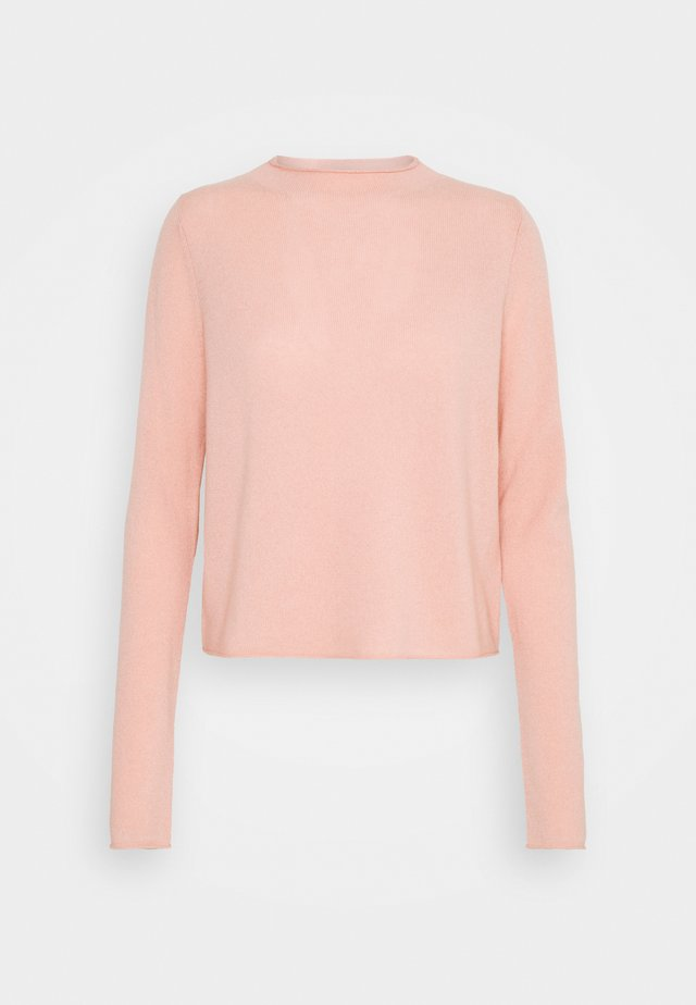 MOCKNECK - Strickpullover - peach powder