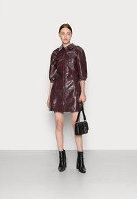 Glamorous Tall - LADIES DRESS  - Shirt dress - burgundy - 1