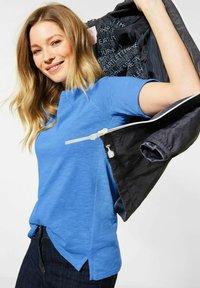 Cecil - RAGLAN  - Basic T-shirt - blau - 2