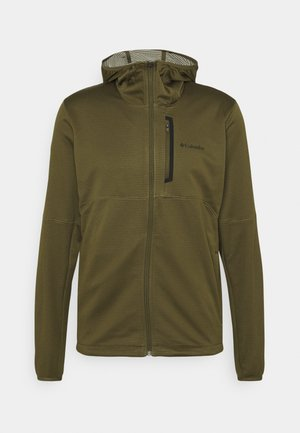 TECH TRAIL™ HOODIE - Fleecejas - new olive/safari