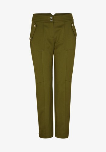 Trousers - deep green