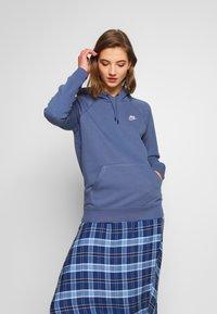 Nike Sportswear - HOODIE - Sweat à capuche - diffused blue/white - 0