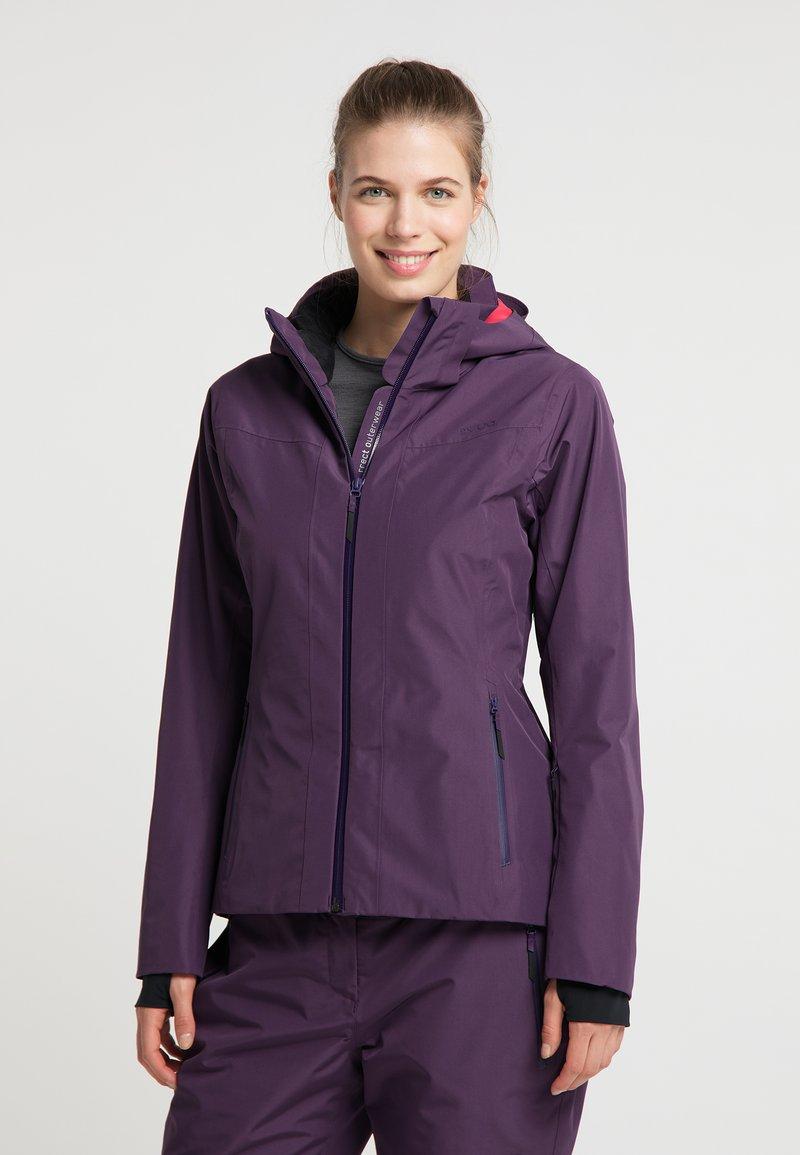 PYUA - ELATION - Outdoor jacket - shadow purple