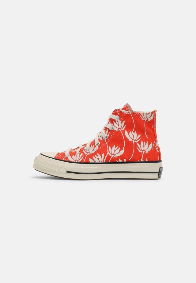 CHUCK 70 - Zapatillas altas - bright poppy/egret/black