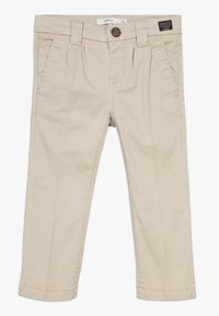 Name it - NMMBARRY TWIATICKA - Chino kalhoty - white pepper - 0