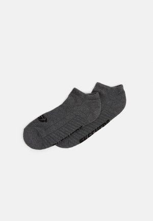BASIC CUSHIONED SNEAKER 2 PACK - Trainer socks - dark grey mouline