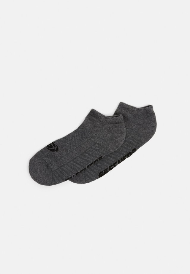 BASIC CUSHIONED SNEAKER 6 PACK - Trainer socks - dark grey mouline