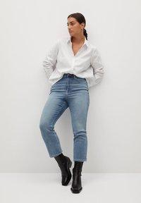 Violeta by Mango - OXFORD7 - Button-down blouse - wit - 1
