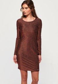 Superdry - Cocktail dress / Party dress - copper - 0