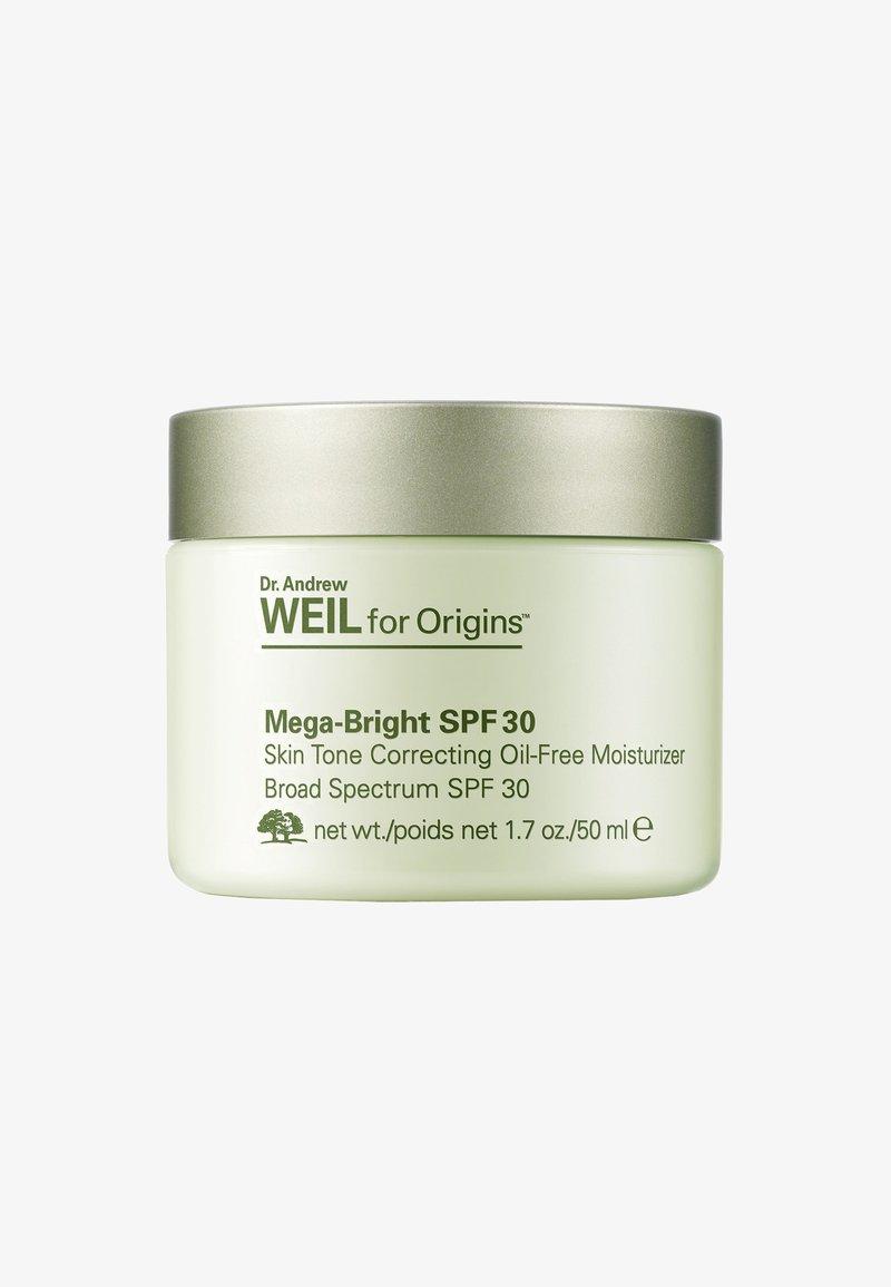 Origins - DR. WEIL MEGA BRIGHT SPF30 SKIN TONE CORRECTION OIL-FREE MOISTURIZER 50ML - Face cream - -