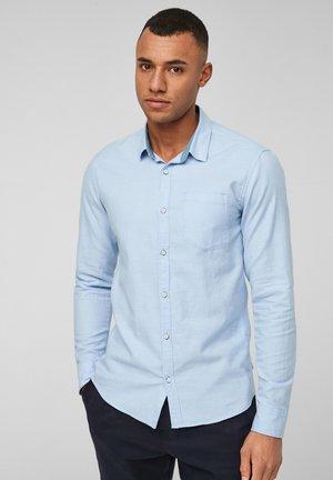 EXTRA SLIM - Camicia - light blue melange