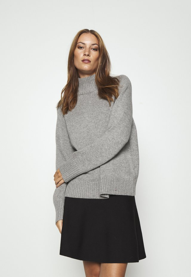 LILIBETH - Sweter - grey melange