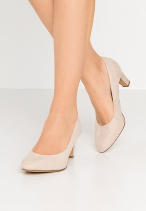 COURT SHOE - Tacones - ivory