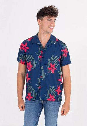 Shirt - costal blue