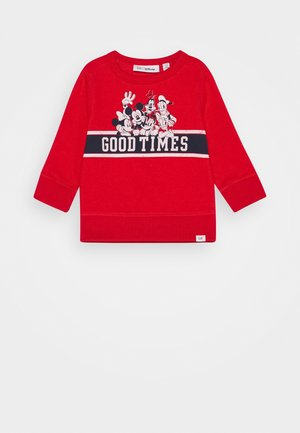 TODDLER BOY MICKEY CREW - Collegepaita - pure red