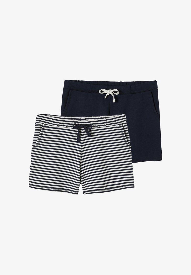 Vertbaudet - Shorts - wollweiß gestreift